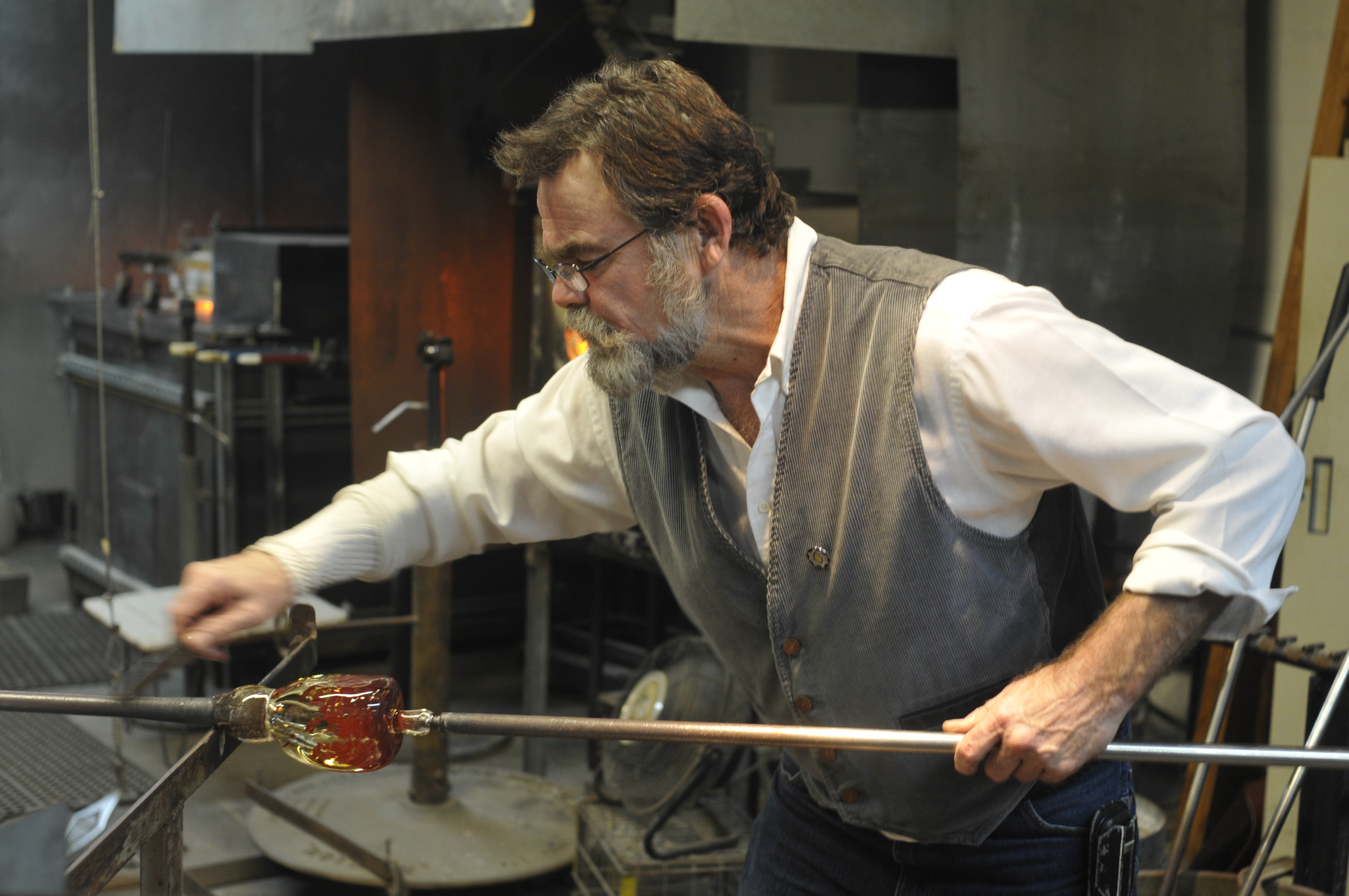 Mark Woirking Hot Glass