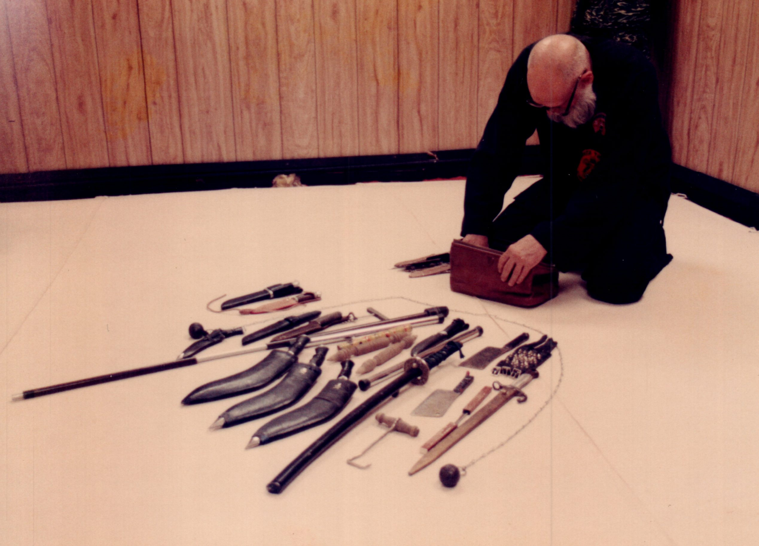 Sensie Clifford Moody With Weapons